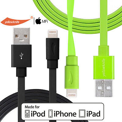 AU13.82 • Buy GENUINE MFI IPhone 6 5s Plus 7 IPad USB Data Cable Flat Charger Lightning Cord