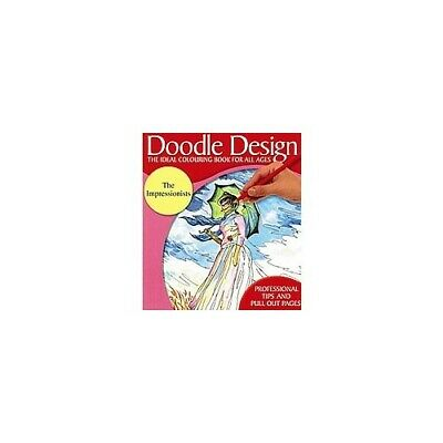 £3.99 • Buy Doodle Design - The Ideal Colouring Book For All Ages - The Impressionists  Book