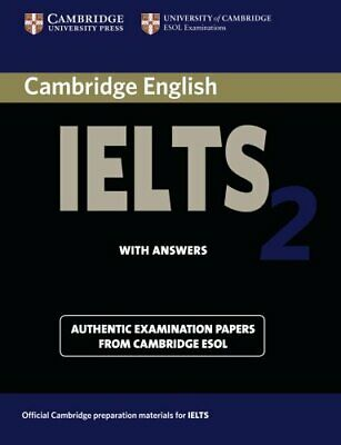 £7.09 • Buy Cambridge English Ielts 2 With Answers: Aut... By University Of Cambri Paperback