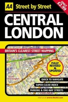 £3.99 • Buy AA Street By Street Central London Map By AA Publishing Sheet Map, Folded Book