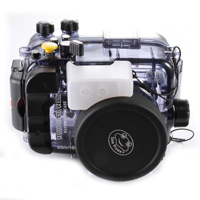 $ CDN317.70 • Buy 195FT/60M Waterproof Underwater Housing Case For Sony A6000 A6300 A6500 Camera