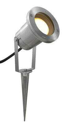 Garden Spike Lights Adjustable Outdoor Ground Spotlight IP65 GU10 ZLC086S • 8.99£