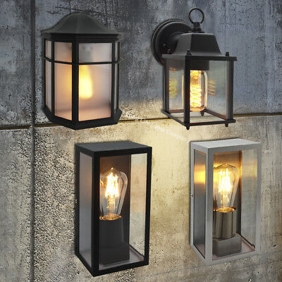 Traditional Vintage Style Outdoor Single Wall Lights IP44 Garden Lantern Lights • 19.99£