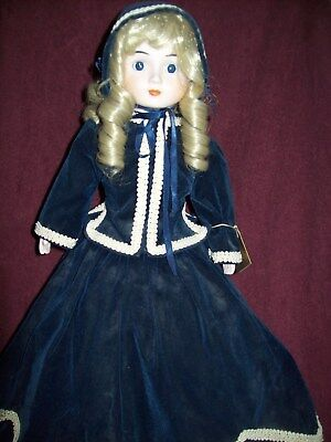 $ CDN13.52 • Buy DOLLS BY RENE Porcelain Victorian Doll - 18 Inches Tall - Very Good Condition