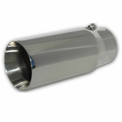 $ CDN61.04 • Buy Stainless Exhaust Tip Pen Double Wall 3.6  ID 5  OD X 12  L Fits GM Duramax