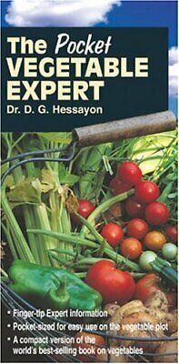 Pocket Vegetable Expert By Hessayon, D. G. Paperback Book The Fast Free Shipping • 10.31£