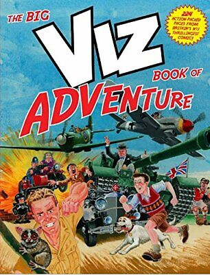 The Big Viz Book Of Adventure By Viz Book The Fast Free Shipping • 10.12£