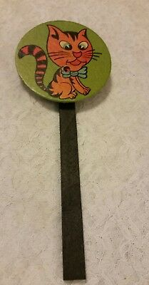 $ CDN38.05 • Buy Vintage HALLOWEEN Orange Cat  Cardboard Bellows Noisemaker  Germany