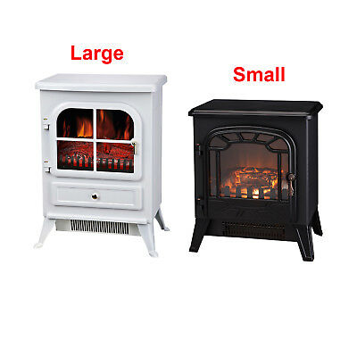 1850W Electric Fireplace Heater Fire Living Room Log Burning Flame Effect Stove • 99.95£