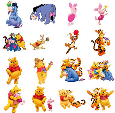 £1.99 • Buy Winnie The Pooh Characters, Iron On T Shirt Transfer. Choose Image And Size