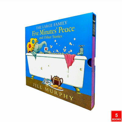 £14.78 • Buy The Large Family Series Five Minutes Peace & Other Stories 5 Books Collection