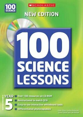 100 Science Lessons For Year 5 With CDRom By Mitchell, Ian Mixed Media Product • 8.34£