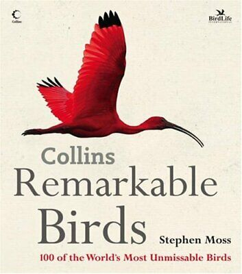 Remarkable Birds By Moss, Stephen Hardback Book The Cheap Fast Free Post • 5.49£