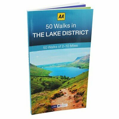 Aa 50 - Walks The Lake District Book The Cheap Fast Free Post • 5.99£