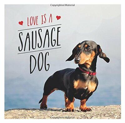 £3.99 • Buy Love Is A Sausage Dog (Gift Book) By Ellis, Charlie Book The Cheap Fast Free