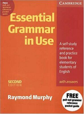 £9.88 • Buy Essential Grammar In Use With Answers: A Self-S... By Murphy, Raymond 0521559286