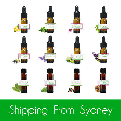 AU11.95 • Buy 100% Pure Best Essential Oils Aromatics Aromatherapy Diffuser Oil Aroma 10ml