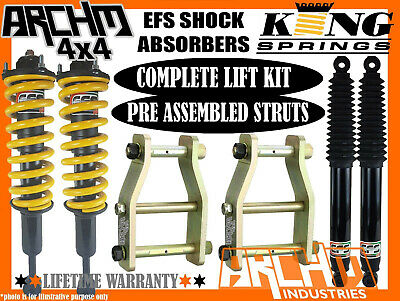 AU945 • Buy MITSUBISHI ML/MN TRITON EFS SHOCKS KING 40mm SUSPENSION EXT SHACKLE LIFT KIT