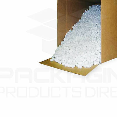 £47.99 • Buy 30 Cubic Ft Of Loosefill/ Packing Peanuts/ Void Fill Virgin Polymer Shape