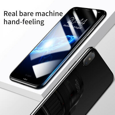 AU2.55 • Buy For IPhone X 360° Front & Back 3D Tempered Glass Screen Protector Hot AU TY
