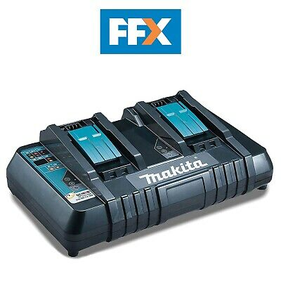 Makita DC18RD/1 110v 14.4-18V LXT Twin Port Rapid Battery Charger • 101.97£