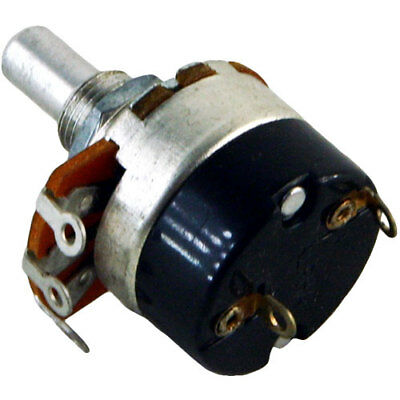 $5.50 • Buy NEW - Alpha Switched SPST Potentiometer With .39  Shaft, 1MA Audio