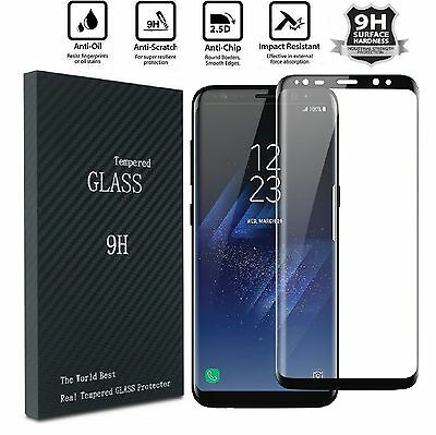 $ CDN1.99 • Buy For Samsung Galaxy S8 Plus Note 8 Screen Protector Tempered Glass Curved Glass