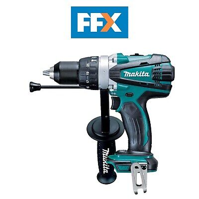 Makita DHP458Z 18v LXT Li-ion 2 Speed Combi Hammer Drill Bare Naked - Body Only • 99£