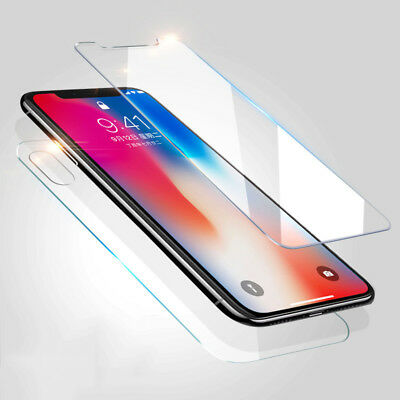 AU2.65 • Buy Front And Back Tempered Glass 360 Screen Protector For Apple IPhone X 10  SD
