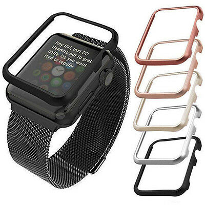 $ CDN2.44 • Buy Apple Watch IWatch Series 1 2 3 Cover Case Screen Protector Glass 38mm & 42mm