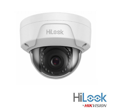 HiLook By Hikvision 2MP IP Camera  Network PoE Dome CCTV IR 30m IP67 IPC-D121HM • 64.50£