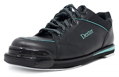 3f079d5cc3f1 Dexter Ladies SST 8 Pro Black Turquoise Bowling Shoes • 198.81
