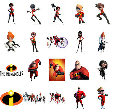 The Incredibles, Iron On T Shirt Transfer. Choose Image And Size • 1.99£