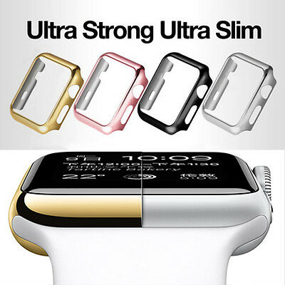 $ CDN2.33 • Buy For Apple Watch Series 1 2 3 Hard IWatch Case Cover  38mm 42mm Screen Protector
