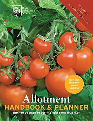 £6.49 • Buy Royal Horticultural Society RHS Allotment Handbook And Planner Book The Cheap