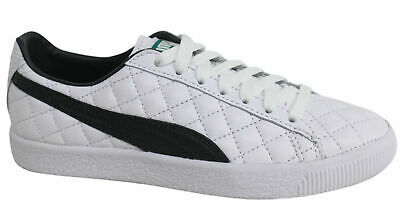 Puma Clyde Dressed Part Deux Lace Up White Leather Mens Trainers 363636 01 D94 • 39.99£