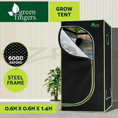 AU86.90 • Buy Greenfingers Grow Tent 60x60x140cm Hydroponic Kits Indoor Grow System Plant