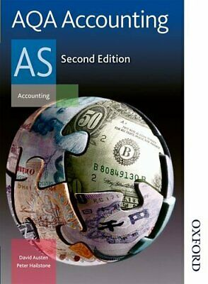 £3.29 • Buy AQA Accounting AS By Hailstone, Peter Book The Cheap Fast Free Post