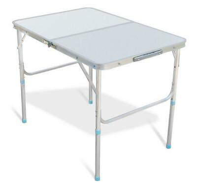 $29.85 • Buy Folding Table 3' Portable Plastic Indoor Outdoor BBQ Picnic Party Camp Tables