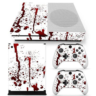 $13.97 • Buy Xbox One S Bloody Horror Console & 2 Controllers Decal Vinyl Skin Wrap Sticker