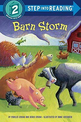 Barn Storm (Step Into Reading - Level 2 - Quality) By Ghigna  Charles Book The • 5.49£