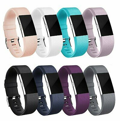 $ CDN6.24 • Buy For OEM Fitbit Charge 2 /  2 HR Replacement Silicone Bracelet Watch Band