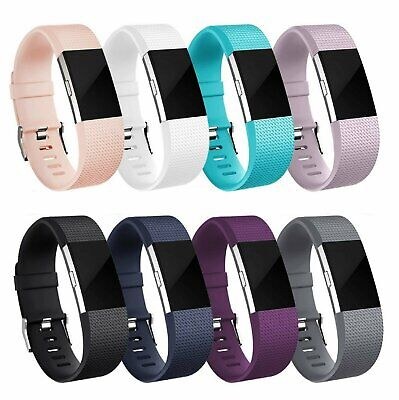 $ CDN5.99 • Buy For OEM Fitbit Charge 2 /  2 HR Replacement Silicone Bracelet Watch Band