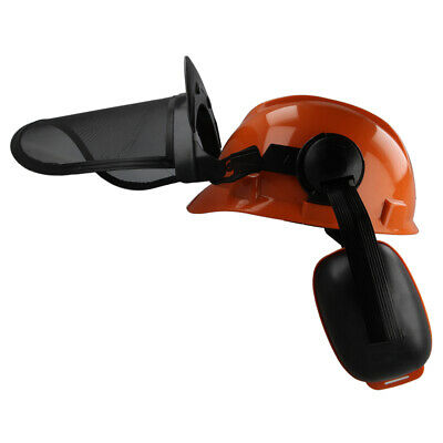 £18.65 • Buy Chainsaw Forestry Protection Helmet Hat & Visor Suitable For HUSQVARNA Users