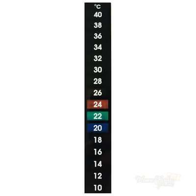 LCD Thermometer Stick On Strip Home Brew Wine Beer Making Aquarium HIGH QUALITY • 3.25£