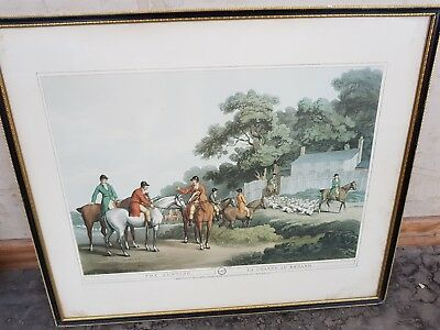 £35.99 • Buy Fox Hunting No 3 La Chasse Au Renard By Samuel Howitt Print Collection Only