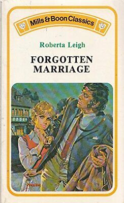 Forgotten Marriage By Leigh, Roberta Paperback Book The Cheap Fast Free Post • 7.99£