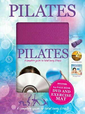 Pilates Book The Cheap Fast Free Post • 6.99£