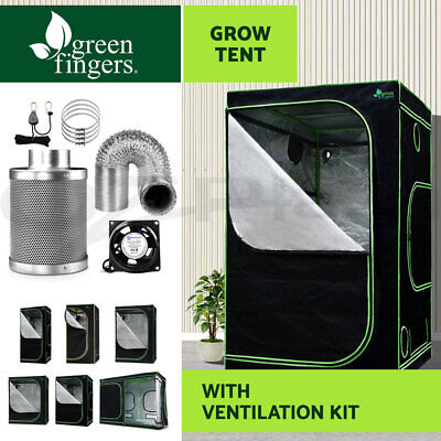 AU124.90 • Buy Greenfingers Grow Tent Kits Hydroponics Indoor Reflective 600D Oxford Cloth