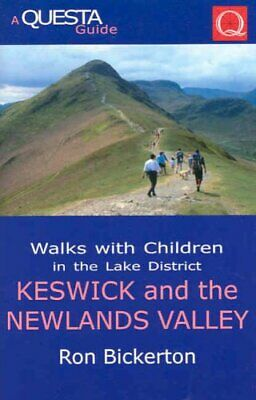 Walks With Children In The Lake District: Keswick... By Bickerton, Ron Paperback • 10.99£